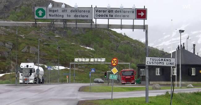 Norrbotten och Västerbotten rödlistade i Norge