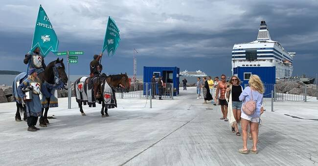 Covidriddare patrullerar på Gotland ännu en sommar