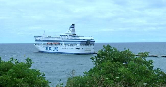 Stopp för kryssningsfartyg i Visby hamn – kraftiga vindar väntas