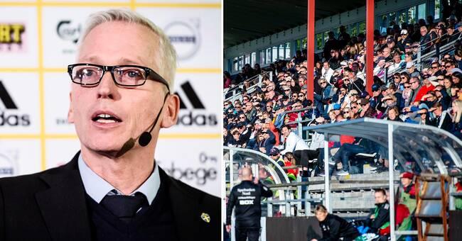 SvFF: 50 personer i publiken tillåtet även på elitfotboll