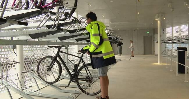 Cykelgarage ska öka intresset för tvåhjuliga transporter