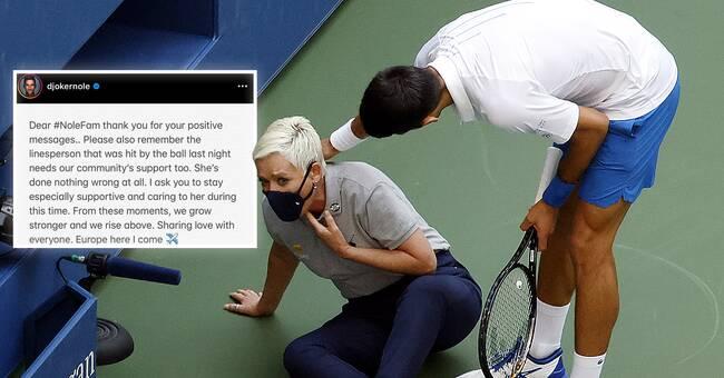 Djokovic Defends Ball Hit Line Referee Teller Report