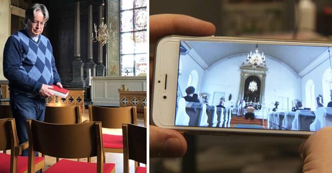 Digitala begravningar har ökat markant sen corona – sägs vara här för att stanna