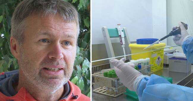 Åtta personer vårdas på sjukhus – kraftig smittspridning