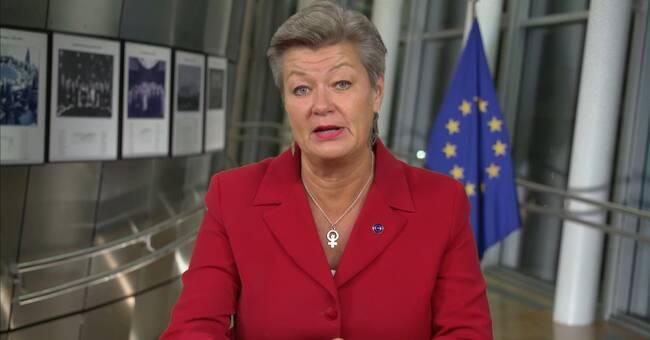 """Ylva Johansson: """"De som får nej måste återvända"""""""