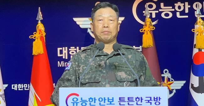 Sydkorean dödad och bränd av nordkoreansk militär