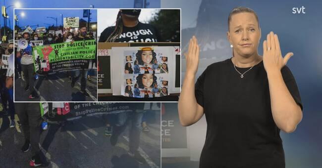 Två poliser skjutna i samband med protester i USA