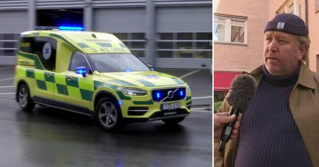 Mindre ambulansnärvaro i Mullsjö – mer i Jönköping