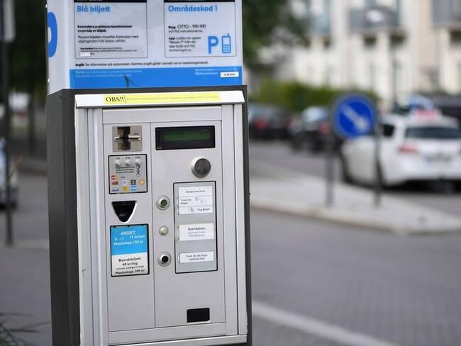 Färre p-automater i Norrköping