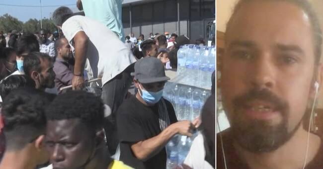 """Så är läget på Lesbos nu: """"Humanitär katastrof"""""""