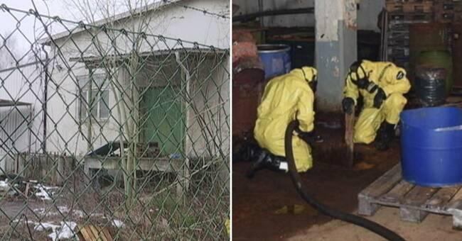 Dom i grovt miljöbrottsärende – stora mängder kemikalier förvarades i Hovslätt