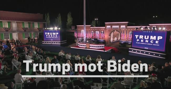 USA-val 2020: Presidentdebatt