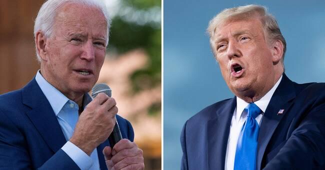 Donald Trump och Joe Biden möts i första debatten i natt – väntas dra rekordpublik på grund av coronapandemin