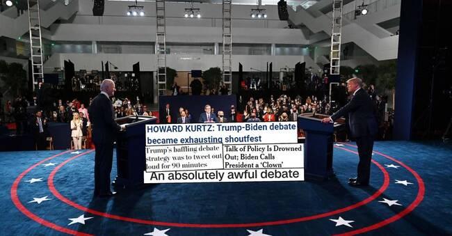 Amerikanska medier: Kaos, turbulens och personattacker