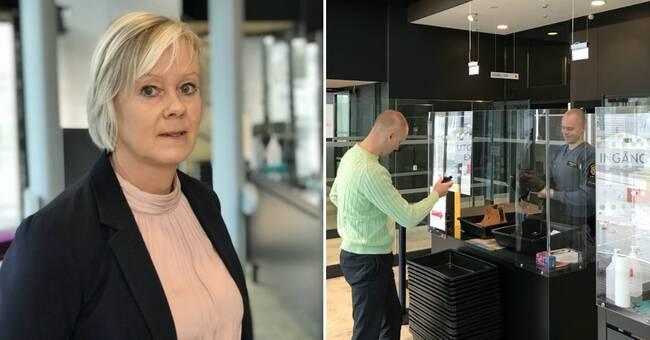 Knivar, knark och batong – det har besökare försökt få in på Jönköpings tingsrätt