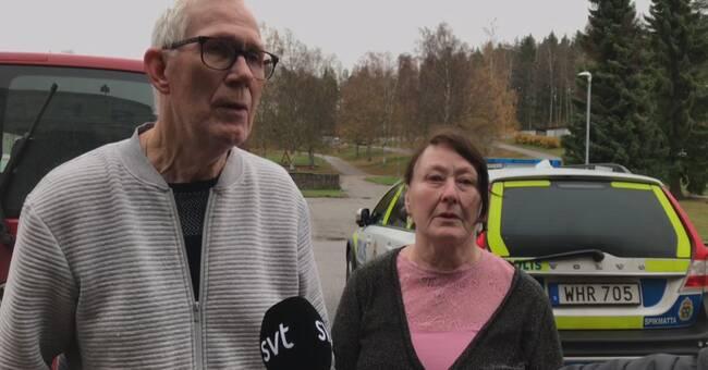 """Grannarna till dramat i Hofors: """"Det är klart att man blir rädd"""""""
