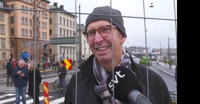 """Åskådare om guldbron: """"Den är välkommen, vi har saknat förbindelsen"""""""