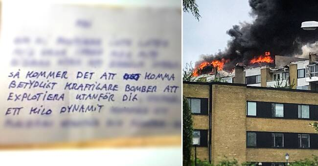 """SD-politiker fick hotbrev från misstänkta bombmännen: """"Kände mig rädd"""""""