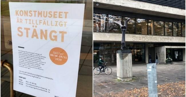 Kommunala verksamheter stänger i Norrköping