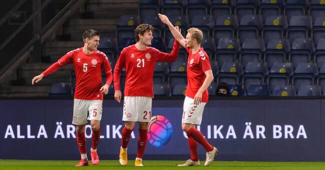 Svagt Sverige chanslöst mot Danmark