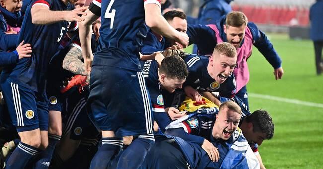 Målvakten förstod inte att han tagit Skottland till EM