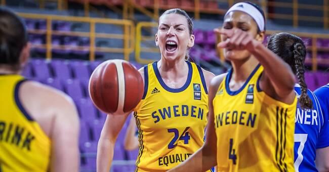 Sverige klart för basket-EM 2021