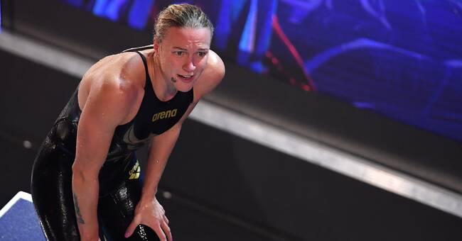 """Sarah Sjöström har ryggproblem igen: """"Blivit lite av en chock"""""""