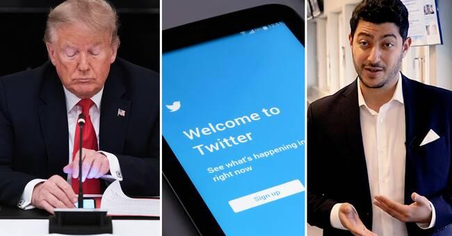 Kommer Twitter verkligen bannlysa Donald Trump efter 20 januari?