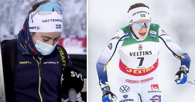 "Ebba Andersson: ""Jävligt besviken"""