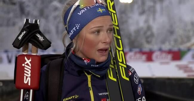"""Frida Karlsson gråtfärdig: """"Håller på att dö"""""""