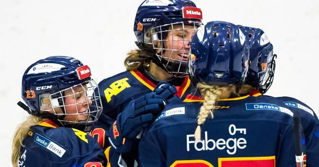 Andrea Dalen matchvinnare när Djurgården slog AIK i SDHL-derby