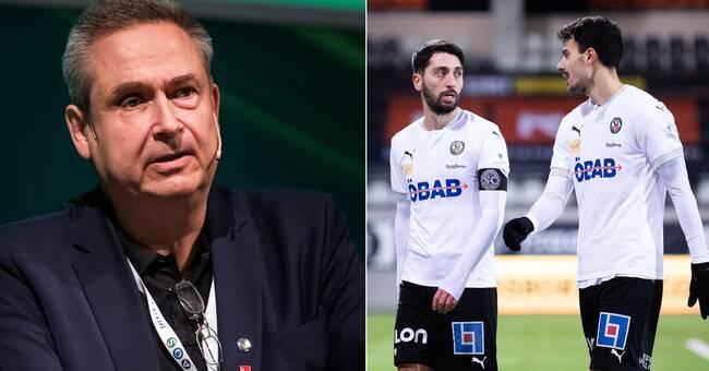 """Oro för nästa säsong: """"Har tömt våra reserver"""""""