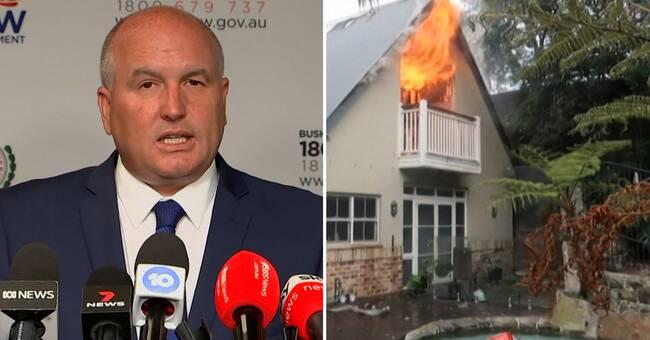 Flera skogsbränder efter helgens värmerekord i Australien