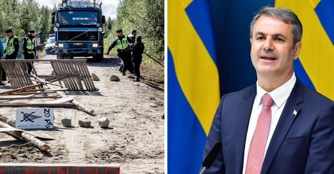 Gruvfrågan i Kallak står still – nu kritiseras näringsministern för långbänken