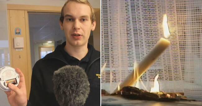 """Räddningstjänsten inför ljushögtiderna: """"Kolla brandvarnaren"""""""