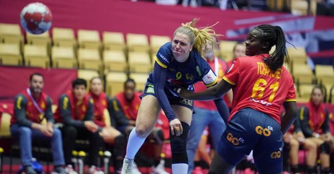 Sverige Mot Spanien I Handbolls Em Svt Sport