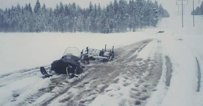 Förrädiska isar runtom i Västerbotten – trots kylan