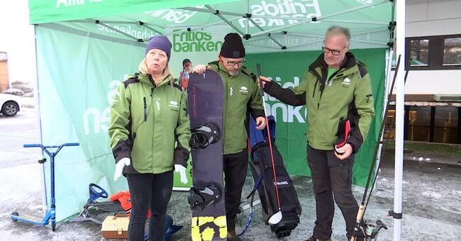 Fritidsbanken öppnar i Motala – blir Sveriges största