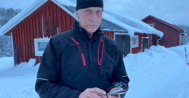 Ulf hittade sin mamma nedkyld under strömavbrottet – kunde inte ringa efter hjälp