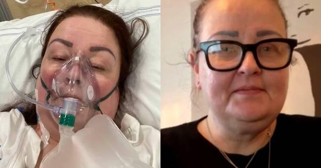 """Malin insjuknade i covid-19: """"Jag är så tacksam att läkarna räddade mitt liv"""""""