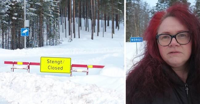 Gränsen mot Norge stängd – polis stoppar alla inresande