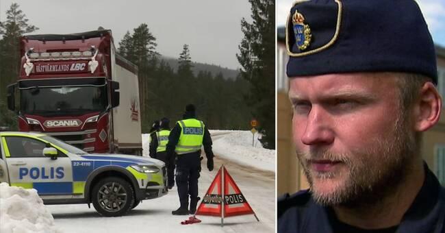 Gränsstängningen påverkar polisens kapacitet