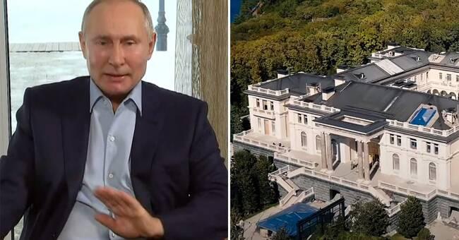"""Putin förnekar sitt lyxpalats – """"Inget tillhör mig"""""""