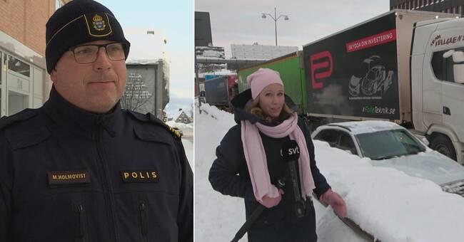 EU-trailers orsakar problem i trafiken – polisen: Lagen är för klen