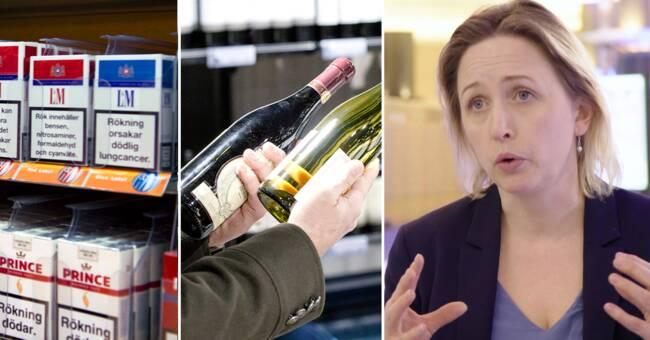 EU föreslår varningsmärkning på alkoholflaskor