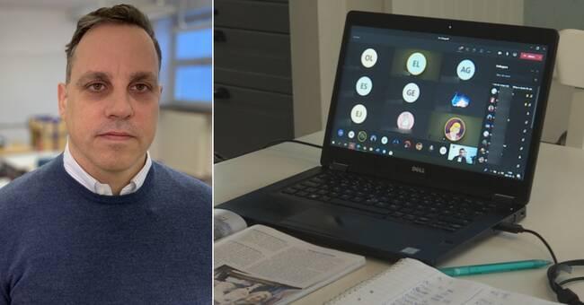 Ovälkomna gäster på digitala lektioner i Malmö