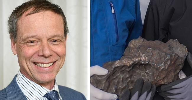 Christer Fuglesang inviger rymdstenens minnesplats