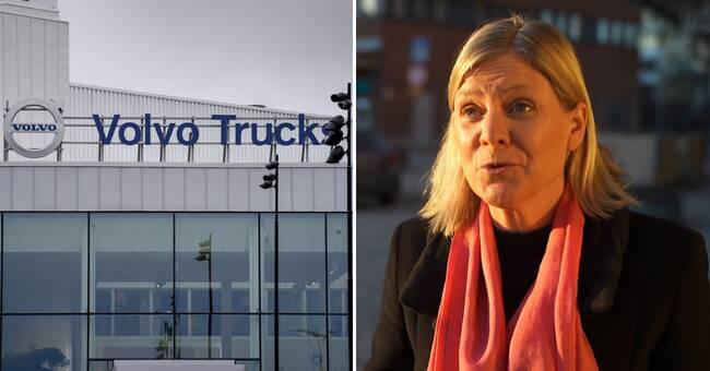 Volvos storägare i krismöte om bonusarna