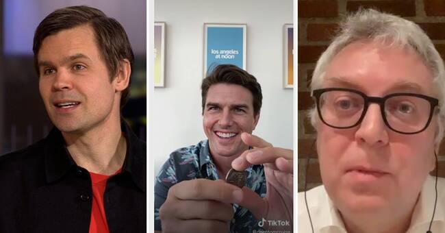 """Video på Tom Cruise sprids på internet – """"den bästa fejkfilmen som gjorts"""""""