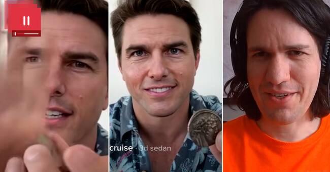 Här är detaljerna som avslöjar deepfake-klippet av Tom Cruise